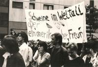 Anti-Reagan-Demonstration, 1987 Christel/Timeline Images