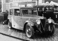 Crossley-Wagen auf der Automobilausstellung in den Olympia-Messehallen in London, 1932 Timeline Classics/Timeline Images