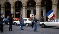 Demonstration der Anhänger von Jean-Marie Le Pen in Paris, 1986 Juergen/Timeline Images