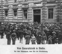 Generalstreik in Stettin, 1919 Timeline Classics/Timeline Images