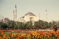 Hagia Sophia in Istanbul, 1958 Dillo/Timeline Images