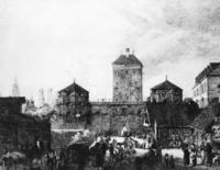 Isartor in München, 1810 Timeline Classics/Timeline Images