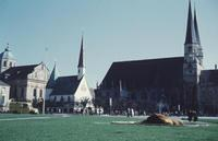 Kapellplatz in Altötting, um 1960 HRath/Timeline Images