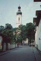Kirche St. Jakob in Lenggries, um 1960 HRath/Timeline Images