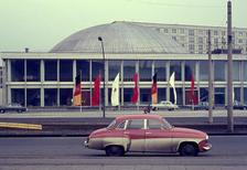 Kongresszentrum am Alexanderplatz in Berlin, 1965 Juergen/Timeline Images