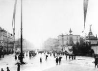 Ludwigstraße in München am 10.07.1900 Timeline Classics/Timeline Images