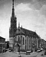 Marienkapelle in Würzburg, 1911 Timeline Classics/Timeline Images