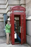 Rote Telefonzelle in London Lanninger/Timeline Images