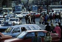 Rush-Hour in Paris, 1991 franzroth/Timeline Images