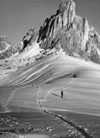 Skifahren bei Cortina d'Ampezzo, 1920er Jahre Timeline Classics/Timeline Images