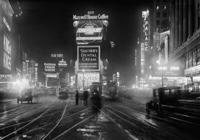 Times Square bei Nacht, 1928 Timeline Classics/Timeline Images