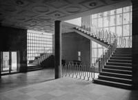Treppenhaus Funkhaus in Wien, 1938 Timeline Classics/Timeline Images