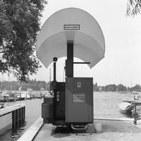 Wassertankstelle an der Havel in Berlin, 1972 Juergen/Timeline Images