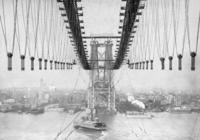 Wiederaufbau der Williamsburg Bridge, 1902 Timeline Classics/Timeline Images