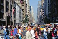 5th Avenue in New York, 1992 Raigro/Timeline Images