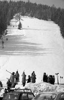 Abfahrt am Kulmberg in Ramsau, 1975 Juergen/Timeline Images