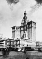 Altes und neues Rathaus in New York, 1927 Timeline Classics/Timeline Images