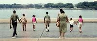 Amerikanische Familie am Potomac Fluss in Washington D.C., 1973 Jürgen Wagner/Timeline Images