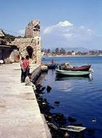 Angler in Akko, 1968 Juergen/Timeline Images