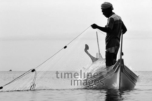 Angler in Malaysia, 1985 hwh089/Timeline Images