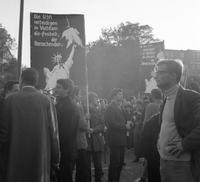 Anti-Vietnamkrieg Demonstration in Berlin, 1968 Juergen/Timeline Images