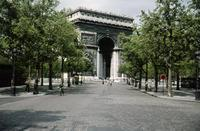 Arc de Triomphe in Paris, 1959 HRath/Timeline Images