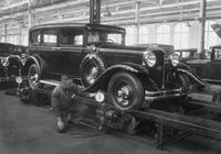Autoproduktion bei General Motors in Berlin - Borsigwalde, 1929 Timeline Classics/Timeline Images
