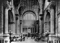 Bahnhofshalle in New York, um 1900 Timeline Classics/Timeline Images