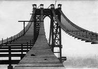 Bau der Manhattan Bridge New York, USA ullstein bild - Philipp Kester/Timeline Images