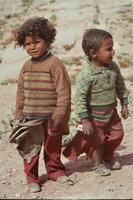 Beduinenkinder in Petra, 1984 Czychowski/Timeline Images