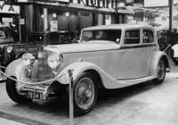 Bentley in einer Automobilausstellung, 1933 Timeline Classics/Timeline Images