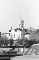 Berlin West Russisch orthodoxe Kirche Winter/Timeline Images