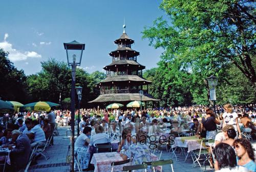 Biergarten Am Chinesischen Turm 1984 Fotocommunity Timeline Images