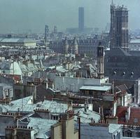 Blick auf den Turm Saint-Jacques in Paris, 1983 keberlein/Timeline Images