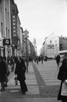Blick in die Theatiner Strasse in München Winter/Timeline Images
