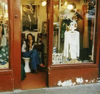 Blick in eine Modeboutique in Saint-Germain-des-Pres in Paris, 1969 Hubertus Hierl/Timeline Images