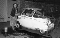 BMW Isetta in Berlin, 1959 Juergen/Timeline Images