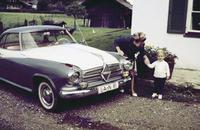 Borgward Coupé in Prien am Chiemsee, 1964 RainerA/Timeline Images
