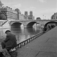 Brücke Pont Saint-Michel in Paris, 1963 keberlein/Timeline Images