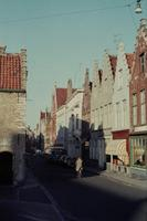 Braambergstraat in Brügge, 1963 Czychowski/Timeline Images