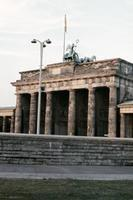 Brandenburger Tor in Westberlin, 1973 Lanninger/Timeline Images