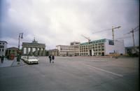 Brandenburger Tor Pariser Platz Winter/Timeline Images