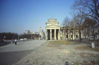 Brandenburger Tor Winter/Timeline Images