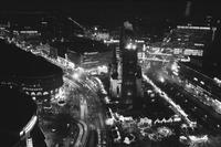 Breitscheidplatz Advent Weihnachten 1984 in Berlin Winter/Timeline Images