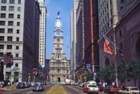 Broad Street mit Old City Hall in Philadelphia, 1992 Raigro/Timeline Images