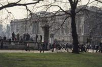 Buckingham Palace in London, 1976 Lanninger/Timeline Images