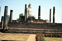 Buddha in Wat Mahathat, 1985 Czychowski/Timeline Images