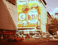 Bunte Reklame am Broadway in New York, 1964 Juergen/Timeline Images
