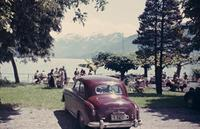 Burgward Hansa am Bodensee, 1954 RainerA/Timeline Images