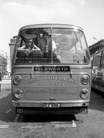 Bus in London, 1971 Juergen/Timeline Images